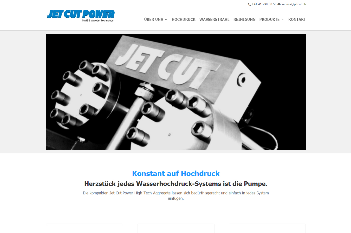 Jetcut Power, Rotkreuz