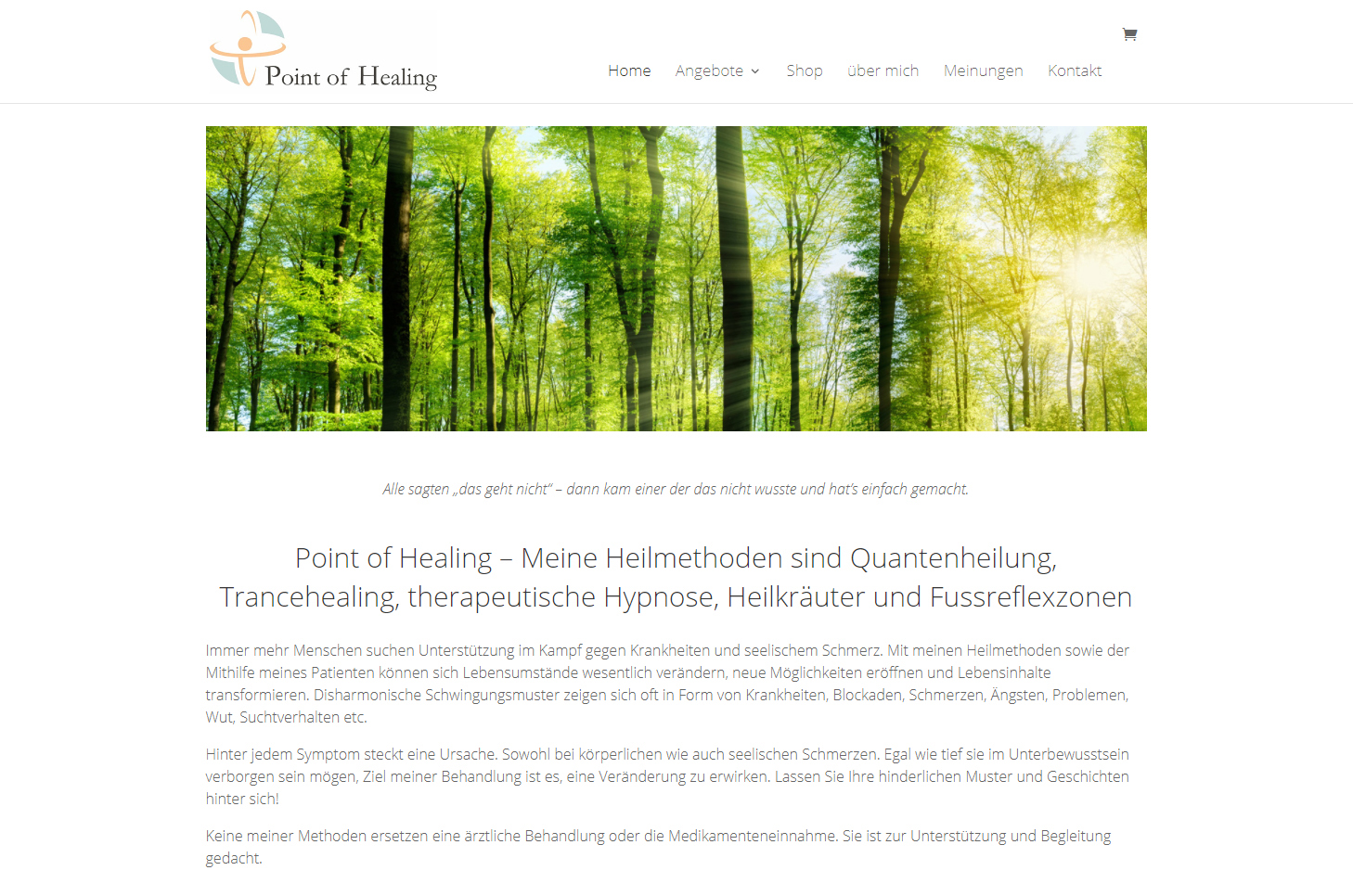Point of Healing, Rotkreuz