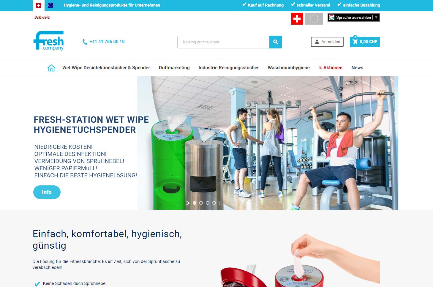 freshcompany, Menzingen
