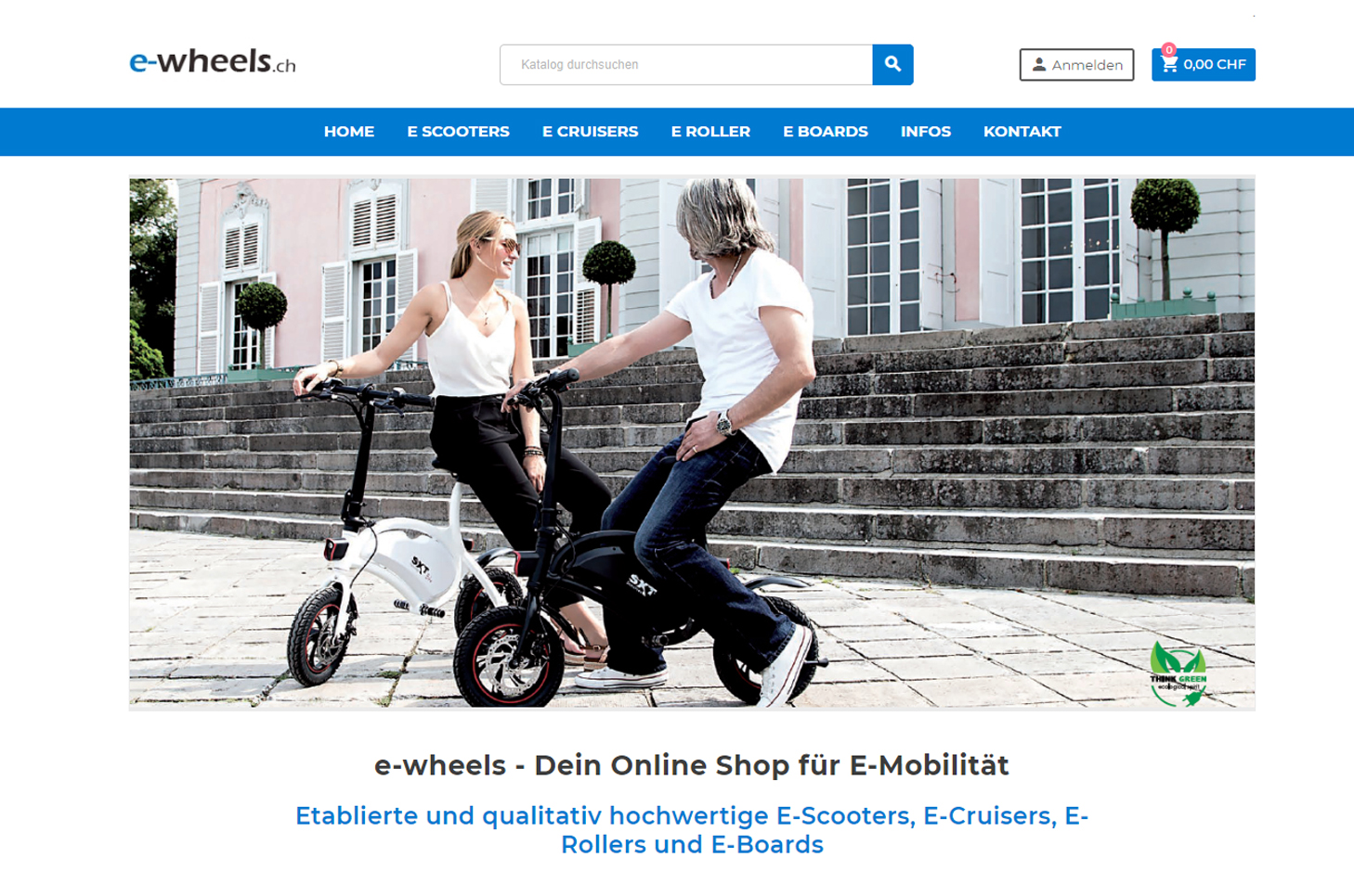 E-Wheels, Rotkreuz